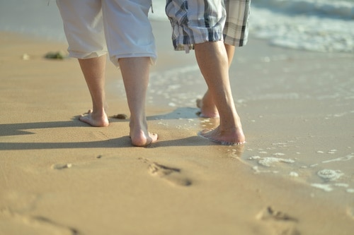 Stay active with healthy feet